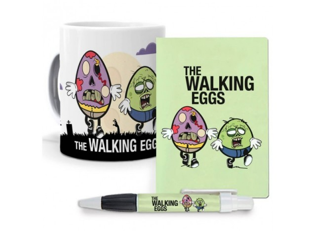 Pack original y personalizado ideal para regalo, series, personajes famosos. The walking dead.